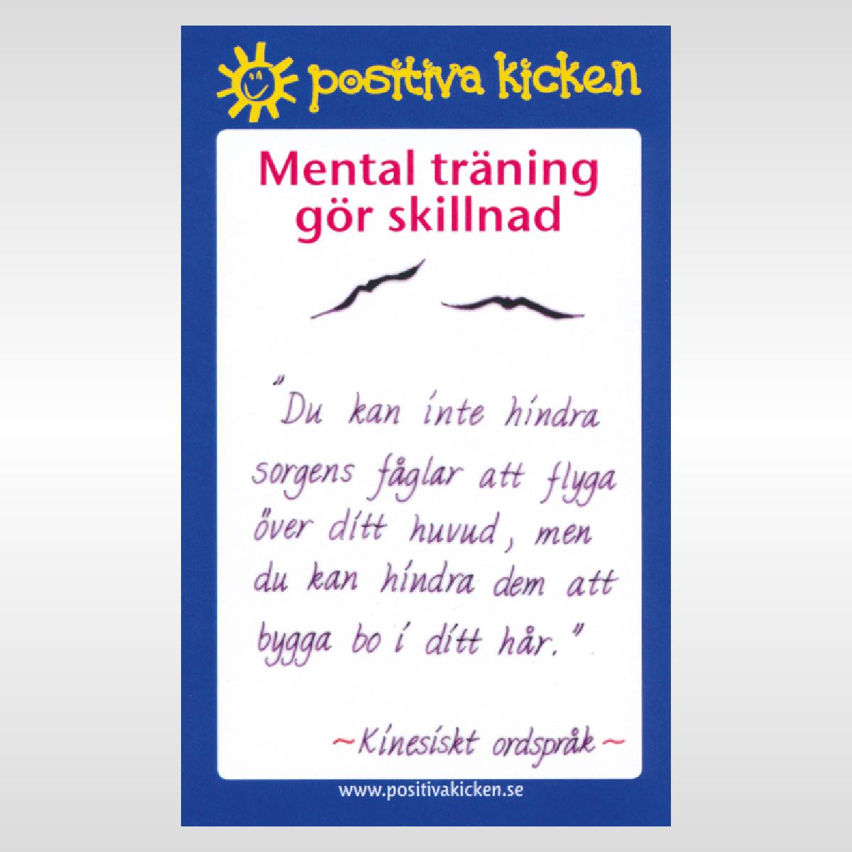 Mental träning gör skillnad