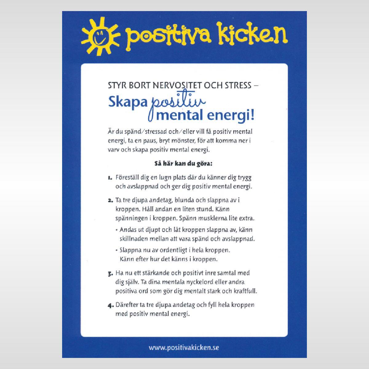 Styr bort nervositet och stress